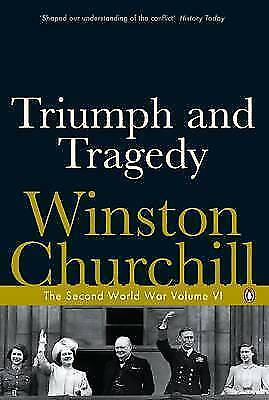 1 of 1 - Churchill, Winston, The Second World War, Volume 6: Triumph and Tragedy, Very Go