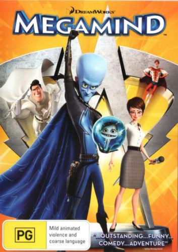 1 of 1 - Dreamworks Megamind (DVD, 2011) children's animated Will Ferrell, Tina Fey