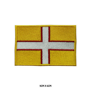 DORSET-County-Flag-Embroidered-Patch-Iron-on-Sew-On-Badge-For-Clothes-Etc