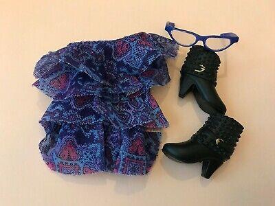 3PAIRS LIV Fashion Shoes-Black Ankle boot//Blue /& Purple color Heel Shoes #LS-711
