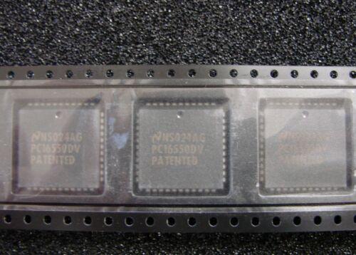 PLCC-44 TI National PC16550DV Universal Asynchronous Receiver//Transmitter