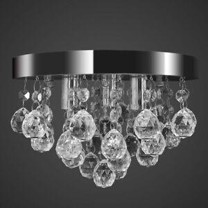 vidaXL-Pendant-Ceiling-Lamp-Crystal-Design-Chrome-Chandelier-Lighting-Fixture