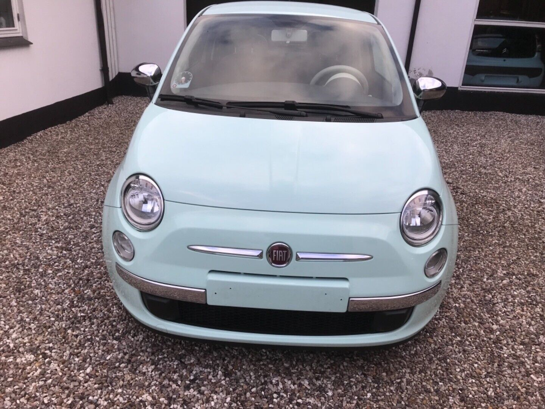Fiat 500 1,2 Go Mint 3d - 59.500 kr.
