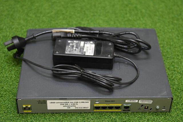 CISCO CISCO861-K9 INTEGRATED 861 ROUTER - 1 YrWty/ TxInv