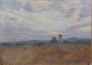 Emile-Tazin-1858-1922-Landschaft-Indre-Lehmann-Berry-Impressionismus-Langee