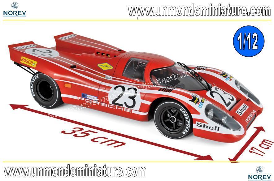 barato y de alta calidad Porsche 917 K Winner 24H 24H 24H France 1970 Attwood   Hermann NOREV - NO 127501 - 1 12  buscando agente de ventas