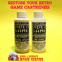 Professional Video Game Cartridge Cleaning Restoration Kit Nes Snes N64 - Refill
