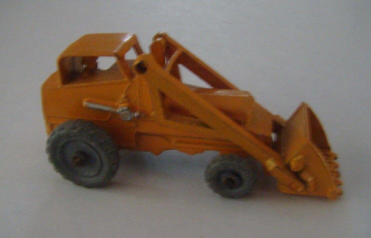 Matchbox Regular Rueda 24 Naranja Weatherhill Excavadora Mw 1956