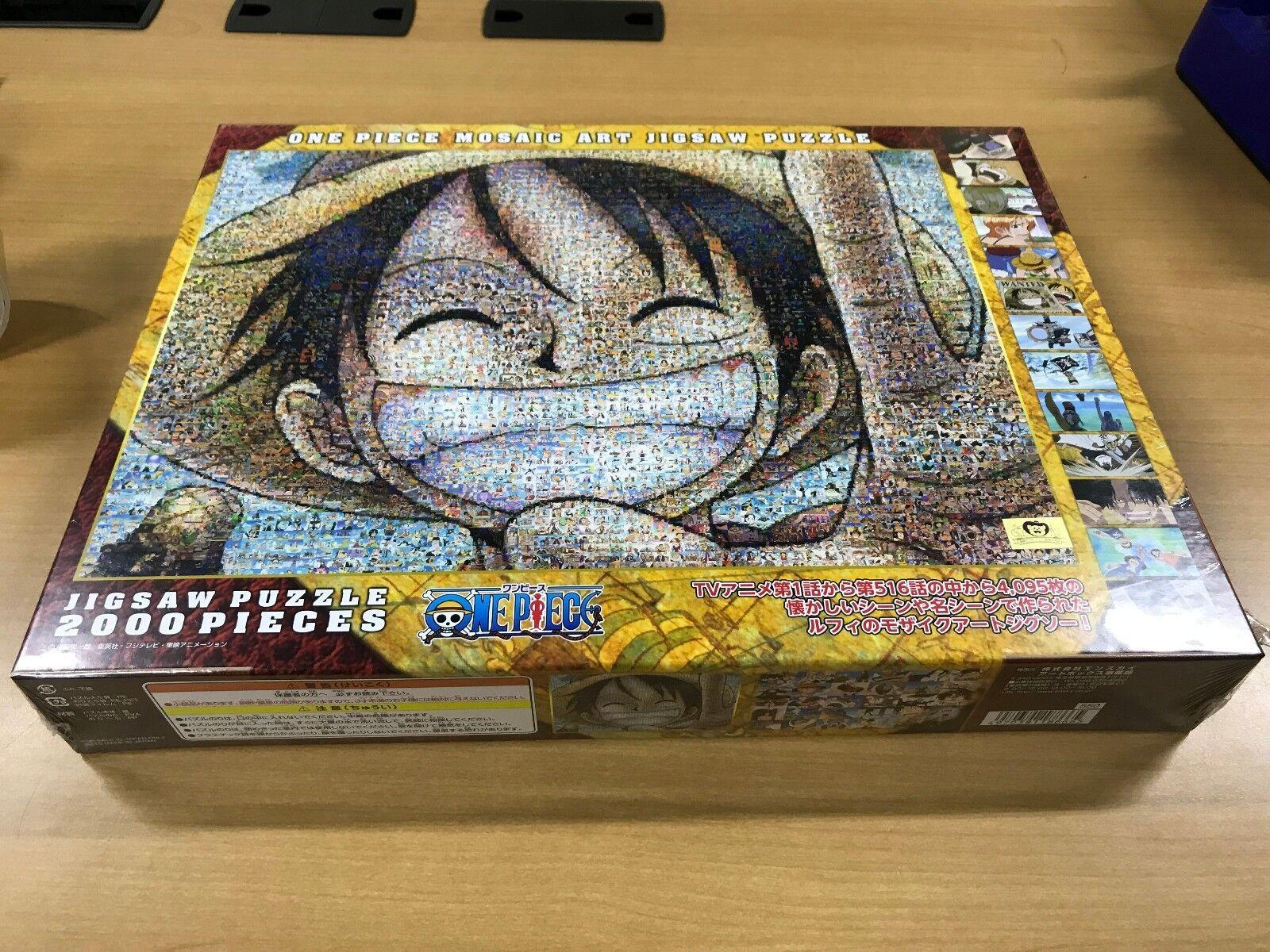 One Piece Luffy 2000 piece Jigsaw Puzzle Mosaïque Art (73x102cm) 2000-107 by Ensky
