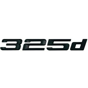 F31 E93 F30 E92 G20 Models F34 E91 E46 E90 Glossy Black 330i Lettering Back Boot Lid Trunk Badge Emblem for 3 Series E36