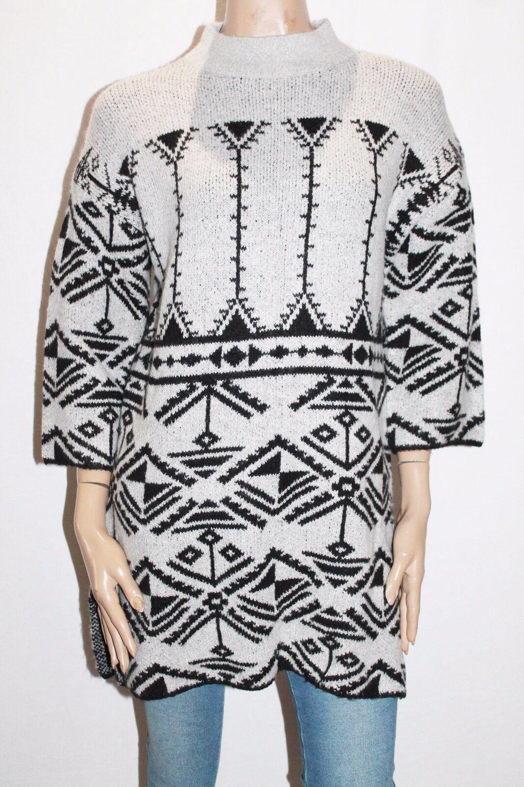 VILA Brand Light Grey Kntted Short Sleeve Jumper Size XS BNWT  SL76