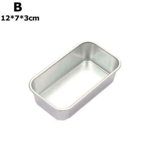 DIY Bread Mold Rectangle Toast Loaf Pan Non-Stick Cake Mold Baking Boxes I1F1