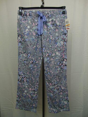 Jenni Jennifer Moore Sleepwear Floral Print Flannel Pajama Pants Medium #2686