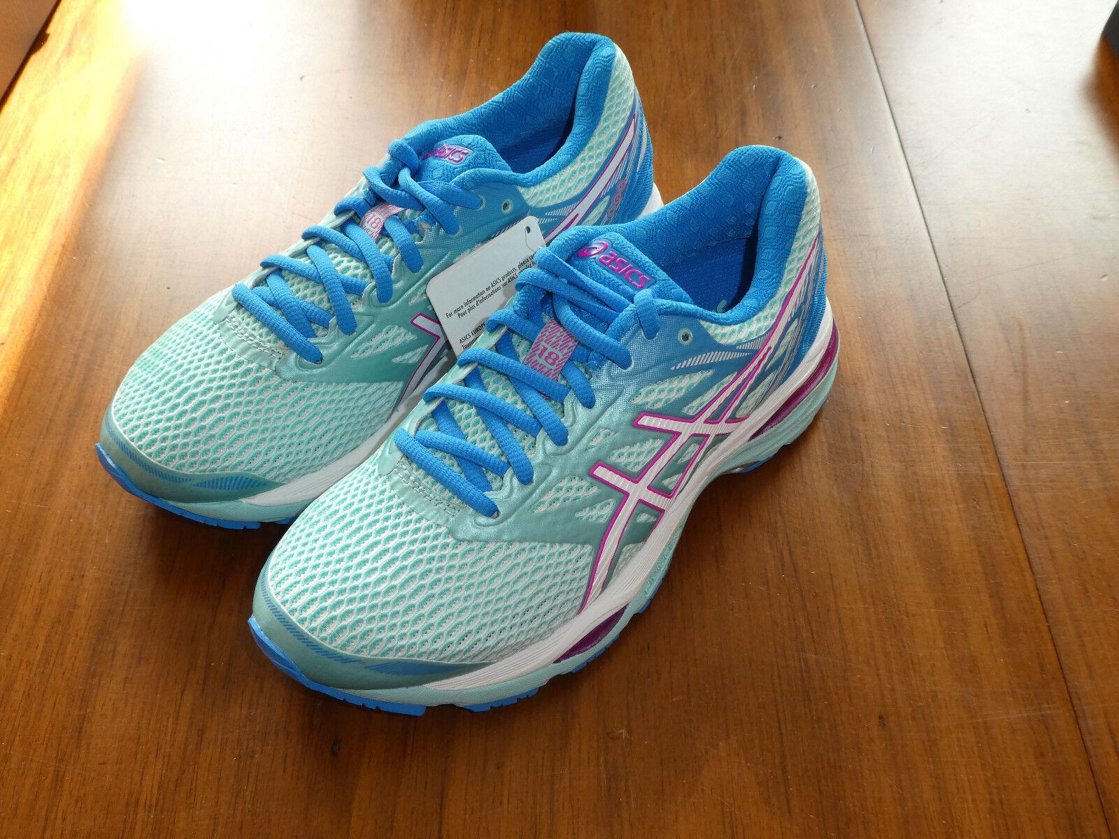 Asics Gel Cumulus 18 womens shoes T6C8N 6701 new sneakers running aqua splash