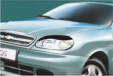 Cilia head lights Headlights eyebrows Daewoo Lanos 1997- Design eyebrows type -5