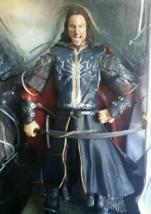 Lord of the Rings Return of the King ARAGORN Final Battle of Middle-Earth Figure