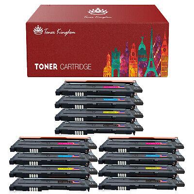 12 Pk Color CLT-K406S Toner for Samsung CLP-365W CLX-3305FW Xpress C410W C460FW
