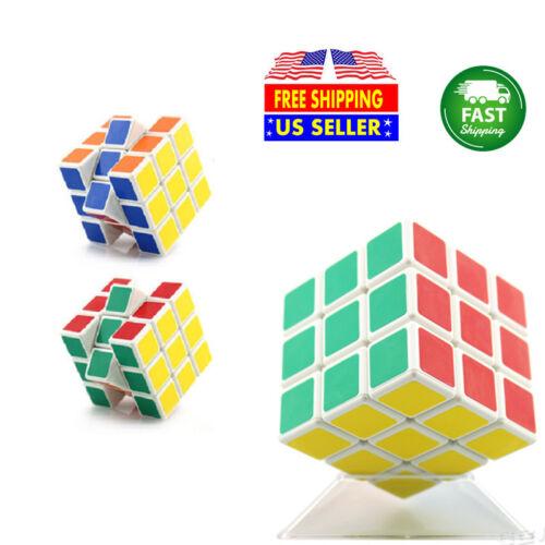 10x YongJun Cube Speed Puzzle Magic 3x3 Kids Toy Game Gift White