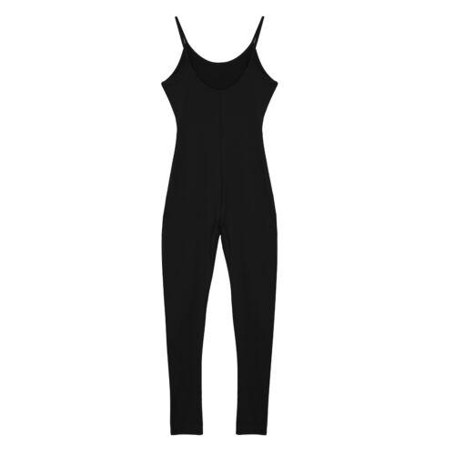 Women/'s Thong Bodysuit Yoga Fitness Swimwear Stretch Swimsuit Workout Jumpsuit