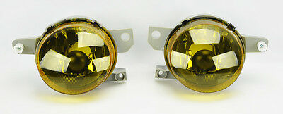Honda del Sol 92-97 JDM Front Aux Yellow Fog Lights Pair RH LH