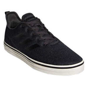 a4d885897a Adidas Men s True Chill Carbon Black White Skateboarding Sneakers ...