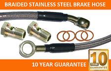 Braided stainless steel Brake Hose 67.5 cm long