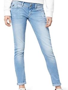 G-Star Lynn Skinny Tapered Hellblau Jeans Damen Größe w32 l32 * ref81-6