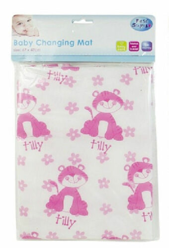 BABY CHANGING MAT Fold up Small for TRAVEL EASY CLEAN Waterproof Lightweight NEW