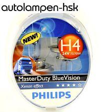 Philips H4 24V MasterDuty Master Duty Blue Vision 2 Stk +++ TOP ANGEBOT+++