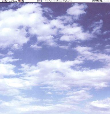 """""""Clouds"""" 12x12  Paper - Sugar Tree"""