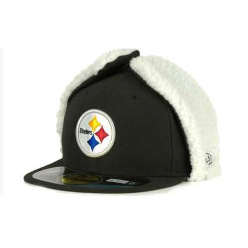 Pittsburgh Steelers NFL 59FIFTY Dog Ear Fitted Cap