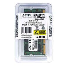 1GB SODIMM HP Compaq Presario CQ61-417SA CQ62-200SD CQ62-200SG Ram Memory