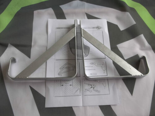 MGF MG F inox toit mur Support de montage Kit Brand New mgmanialtd.com