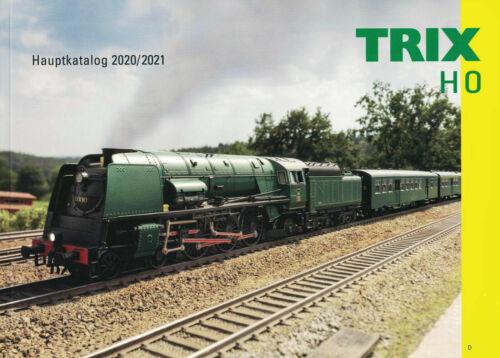 Trix 19849 HauptKatalog HO 2020//21 Deutsch mit 144 Seiten  NEU
