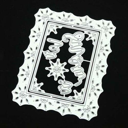 Multi Cutting Dies Metal Stencil DIY Scrapbooking Embossing Paper Photo Craf#L^