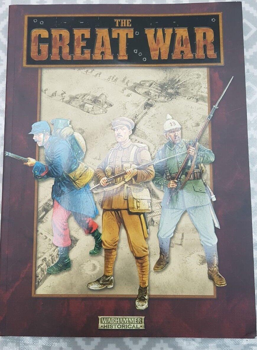 Libro de reglas Warhammer gran Guerra Primera Guerra Mundial Wargaming