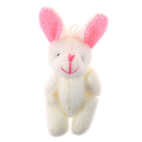 Mini 4cm rabbit plush stuffed baby toy dolls for kids candy box gift toys Kd