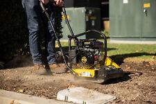 79cc Walk Behind Vibratory Compactor Plate Rammer Gas Power 2 Hp Soil Dirt