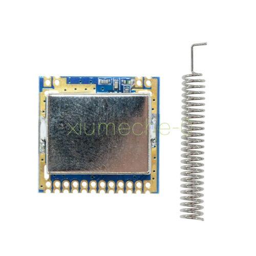 1PCS Mini SI4463 2000M 433Mhz Remote Wireless Transceiver Module Antenna M