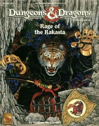 Rage Of The Rakasta (Dungeons & Dragons, Adventure 9435)