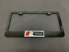 1x Roush 3d Emblem Black Stainless License Plate Frame Fits Focus