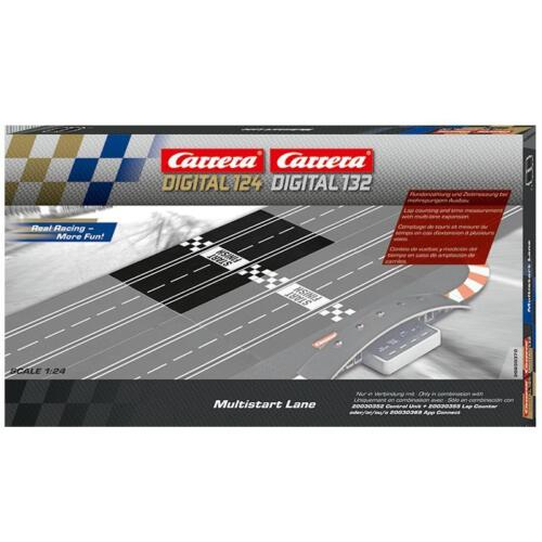 Carrera 30370 Digital124 Digital132 Multistart Lane NEU!