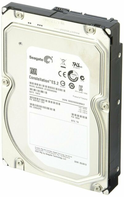 Seagate Constellation Es 3TB, Interne Bureau 7200 RPM SATA 8.9cm ST33000650NS