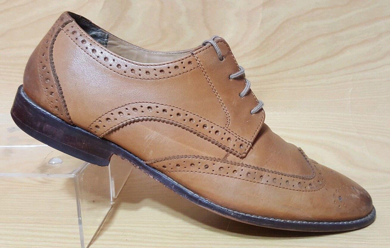 Florsheim Wing Tip Oxfords Mens Leather shoes 11 D