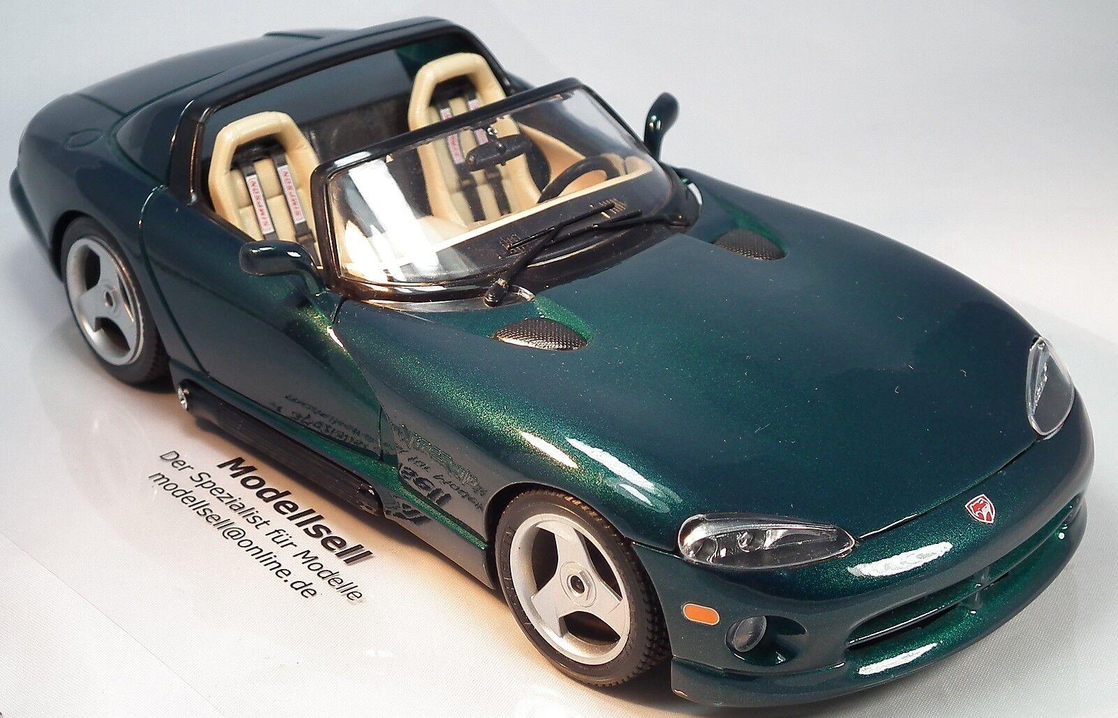 Dodge Viper RT 10 Cabrio  im Maßstab 1 18  Modellauto von Burago    Meistverkaufte weltweit