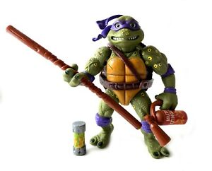 Movie-Star-Don-Vintage-TMNT-Ninja-Turtles-Figure-Near-Complete-1992-Donatello