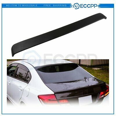 ECCPP ABS Spoiler Wing Rear Trunk Lip Unpainted Replacement fit for 2008-2012 Honda Accord