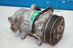 Pegeut 206 Air Conditioning Compressor Sanden SD6V12 2956605144 SD6VRB