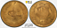 thumbnail 2 - AFGHANISTAN. 2 Amani Gold Coin, SH 1301 (1922). PCGS MS-63 Gold Shield. TOP 1