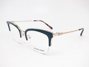 9189146c22 New Michael Kors MK 3029 Costa Rica 1014 Shiny Pale Gold Eyeglasses ...